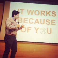 UNF Student pitching Mas Life