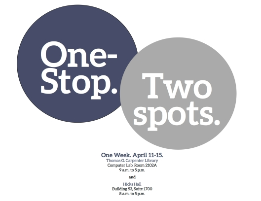 one-stop, two spots